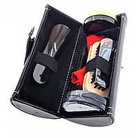 Дорожный набор для ухода за обувью коричневый (16,5х7х7 см) Черный