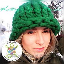 Товста пряжа Крос (зелений), фото 3