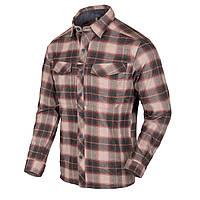 Рубашка с длинным рукавом Helikon-Tex® Defender Mk2 PILGRIM Shirt® - Rust Plaid 3XL