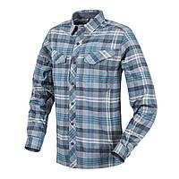 Рубашка с длинным рукавом Helikon-Tex® Defender Mk2 PILGRIM Shirt® - Blue Plaid