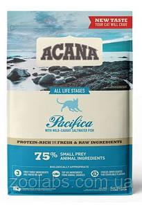 Корм Acana для кошек и котят с рыбой   Acana Pacifica Cat 0,34 кг