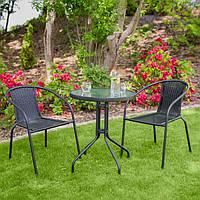 Набор садовой мебели BISTRO стол + 2 кресл