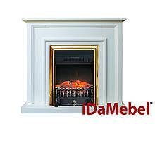 КаминокомплектIDaMebel Adele Fobos Brass