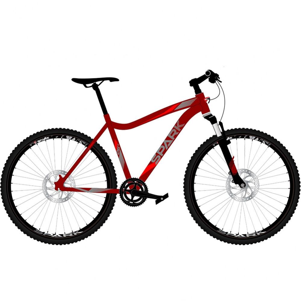 """Велосипед 26"""" DAN, рама - Алюміній"""