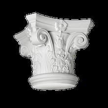 Капитель 1.11.001 для колон с полиуретану европласт