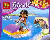 Конструктор Bela серия Friends / Подружки 10125 (Водный мотоцикл)