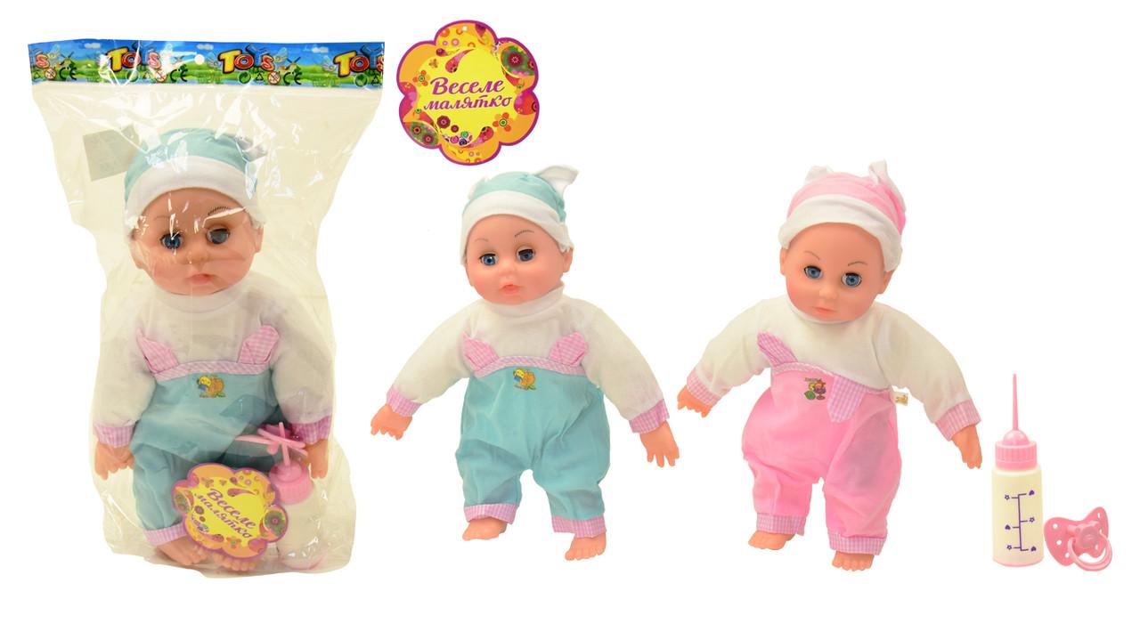 Кукла-пупс музыкальная, NEW304A