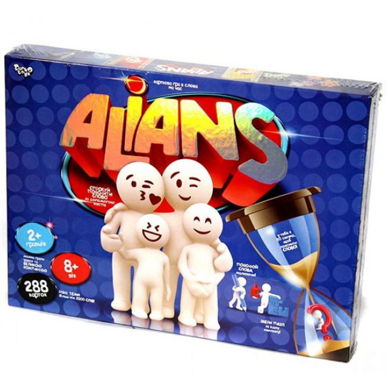 "Гра наст. ""Alians"" №G-ALN-01U/DankoToys/(5)"