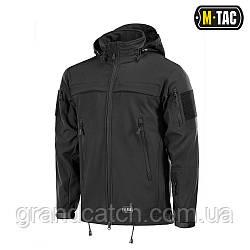 Куртка M-Tac Soft Shell Police Чорна