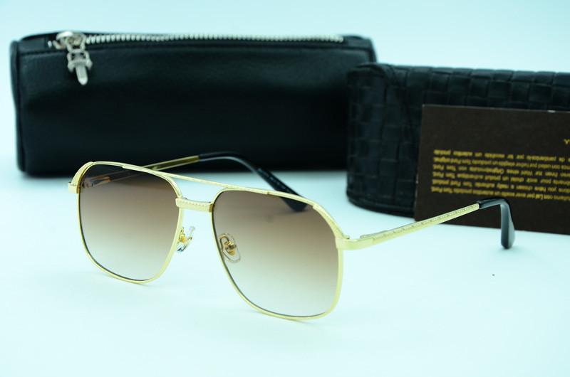Мужские солнцезащитные прямоугольные очки 31474 с101
