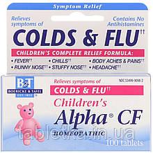 Boericke & Tafel, Alpha CF для детей, 100 таблеток