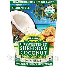 Edward & Sons, Let's Do Organic, 100 % органический измельченный кокос без подсластителя, 227 г (8 унций)