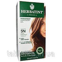 Herbatint, Перманентная краска-гель для волос, 5N, светлый каштан, 4,56 жидкой унции (135 мл)