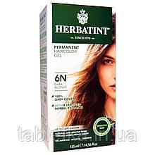 Herbatint, Стойкая гель-краска для волос, 6N, темный блондин, 135 мл (4,56 жидкой унции)