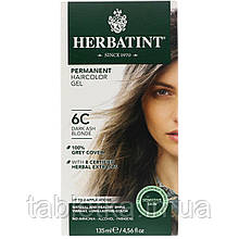Herbatint, Стойкая гель-краска для волос, 6C, темный пепельный блондин, 135мл (4,56жидк.унции)