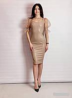 Жіноче плаття з шкір заступника Poliit 8809