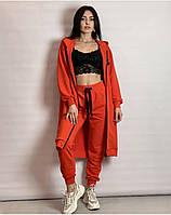 Жіночий костюм з кардіганом з трикотажу Poliit 7262