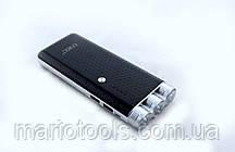 УМБ аккумулятор зарядное Power Bank LED + фонарь 35000 mAh