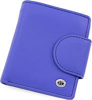 Жіночий компактний гаманець з натуральної шкіри ST Leather