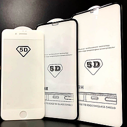 Защитное стекло Xiaomi Pocophone F1 5D белое premium