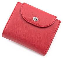 Жіночий маленький гаманець з натуральної шкіри ST Leather