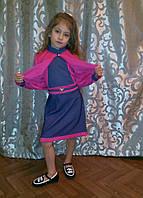 Детское платье с болеро для девочки подростка 122-140 рост, фото 1