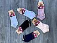 Жіночі шкарпетки з перлинами короткі Z & N з модала ароматизовані 36-40 12шт мікс кольорів, фото 5