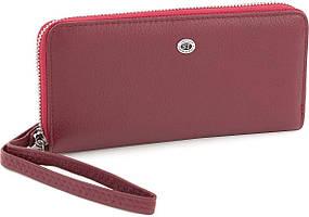 Шкіряний жіночий гаманець на блискавці ST Leather Accessories