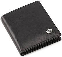 Мужской кожаный кошелек с одним отделением для купюр ST Leather