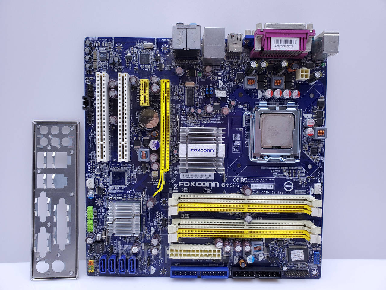 Материнская плата Foxconn G31M  S775/QUAD G31 DDR2