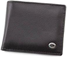 Чоловічий гаманець з затиском для грошей ST Leather