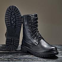 Берці армійські військові Демісезонні Чорний Хижак 36-46 розміри, фото 3