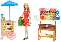Кукла Барби Ферма и магазин Barbie Sweet Orchard Farm Farmers Market with Barbie