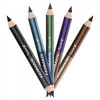 Подвійний олівець для повік чорно-сірий, фото 1