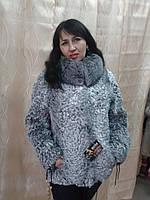 Куртка из голубого каракуля