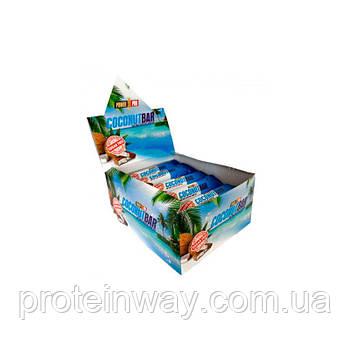 Протеиновые батончики Power pro coconut bar sugar free 50 г 20 шт