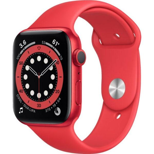 Apple Watch Series 6 GPS 44mm (PRODUCT)RED Aluminum Case w. (PRODUCT)RED Sport B. (M00M3)
