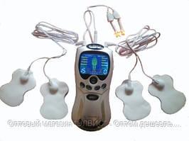 Портативный массажер миостимулятор Digital Therapy Machine Health Herald