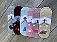 Cлідки Катонові жіночі з мордочками собачок і вушками 35-40 12 шт в уп асорті з 6 ти кольорів, фото 4