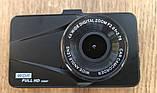 Відеореєстратор для автомобіля Full HD DVR T670G+ на 2 камери 1080P з HDMI виходом, фото 6