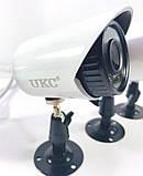 Комплект відеоспостереження 4 камери і реєстратор DVR Pro Vision NX-400 AHD 4ch Gibrid 4.0 MP H. 264, фото 4