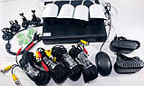 Комплект відеоспостереження 4 камери і реєстратор DVR Pro Vision NX-400 AHD 4ch Gibrid 4.0 MP H. 264, фото 7