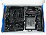 Парктронік Master MS-8 для переднього і заднього бампера з LED-дисплеєм Parking Sensor, фото 5