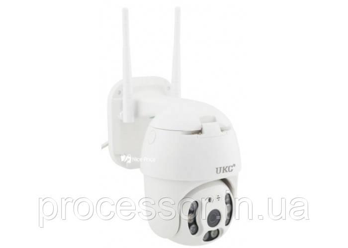 Уличная поворотная Ip Камера видеонаблюдения v380 купольная 1080p с WiFi