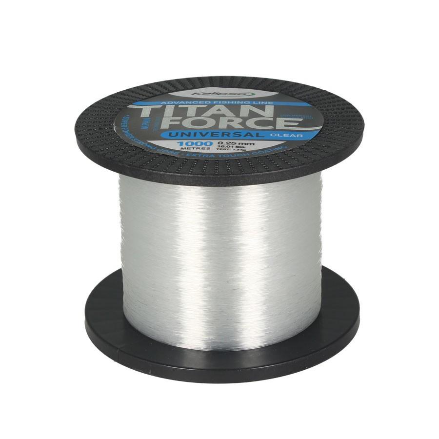 Волосінь Kalipso Titan Force Universal CL 1000м 0.35 мм