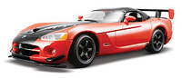 Автомодель BburagoStar DODGE VIPER SRT10 ACR (2008) (ассорти оранж-черн металлик,красн-черн металлик,1:24)