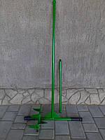Садовый бур с одной съемной насадкой 150 мм и удлинителем 500 мм