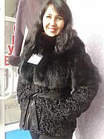 Куртка/трансформер из каракуля/лисы, фото 1