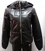 Куртка эко кожа женская, 42,44 рр,  № 1518-16