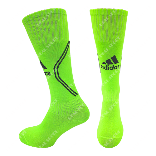 Гетры футбольные детские салатовые Adidas AD-0187